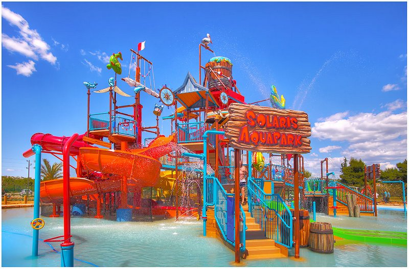 Aquapark v resortu Solaris